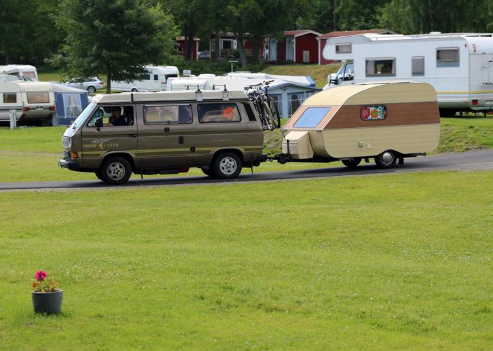 Caravan Typ Mini Wohnwagen