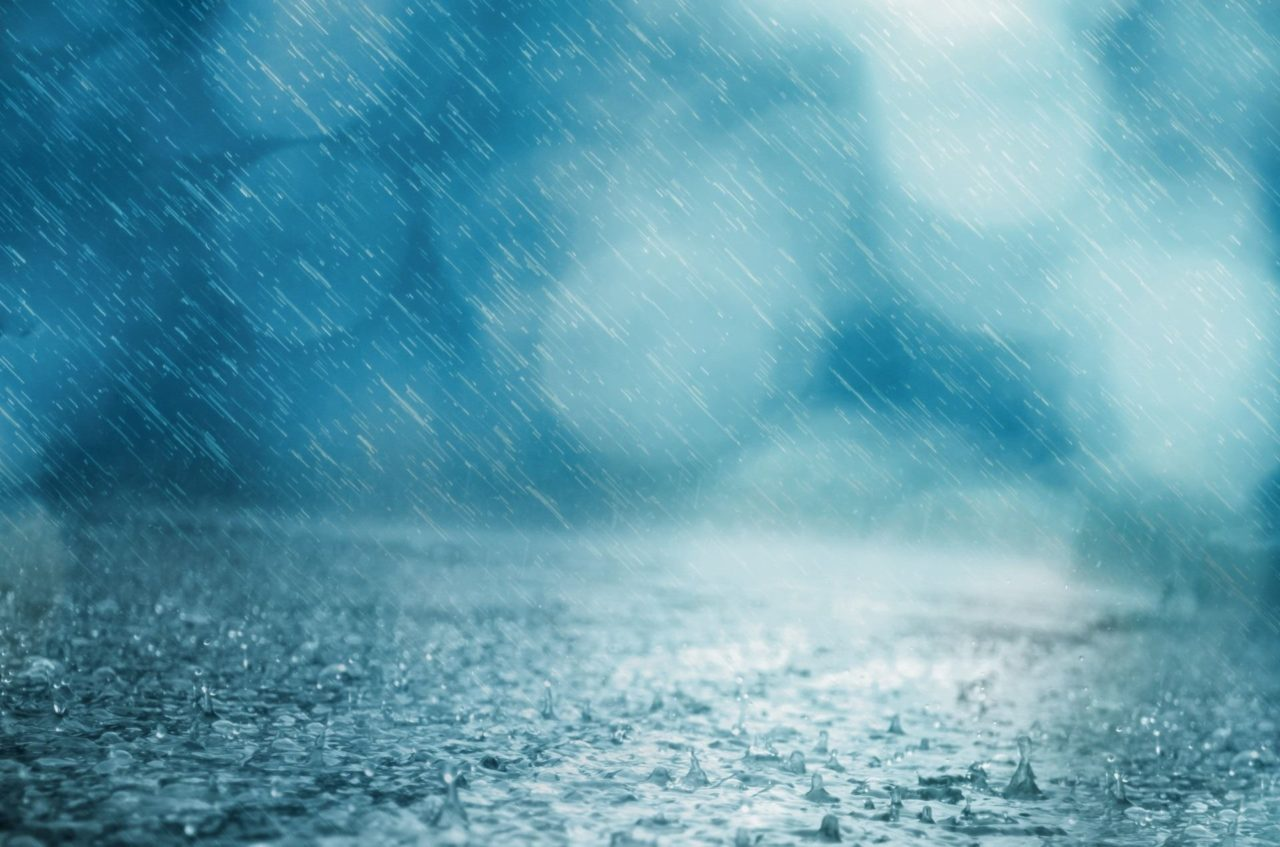 Heftiger Regen