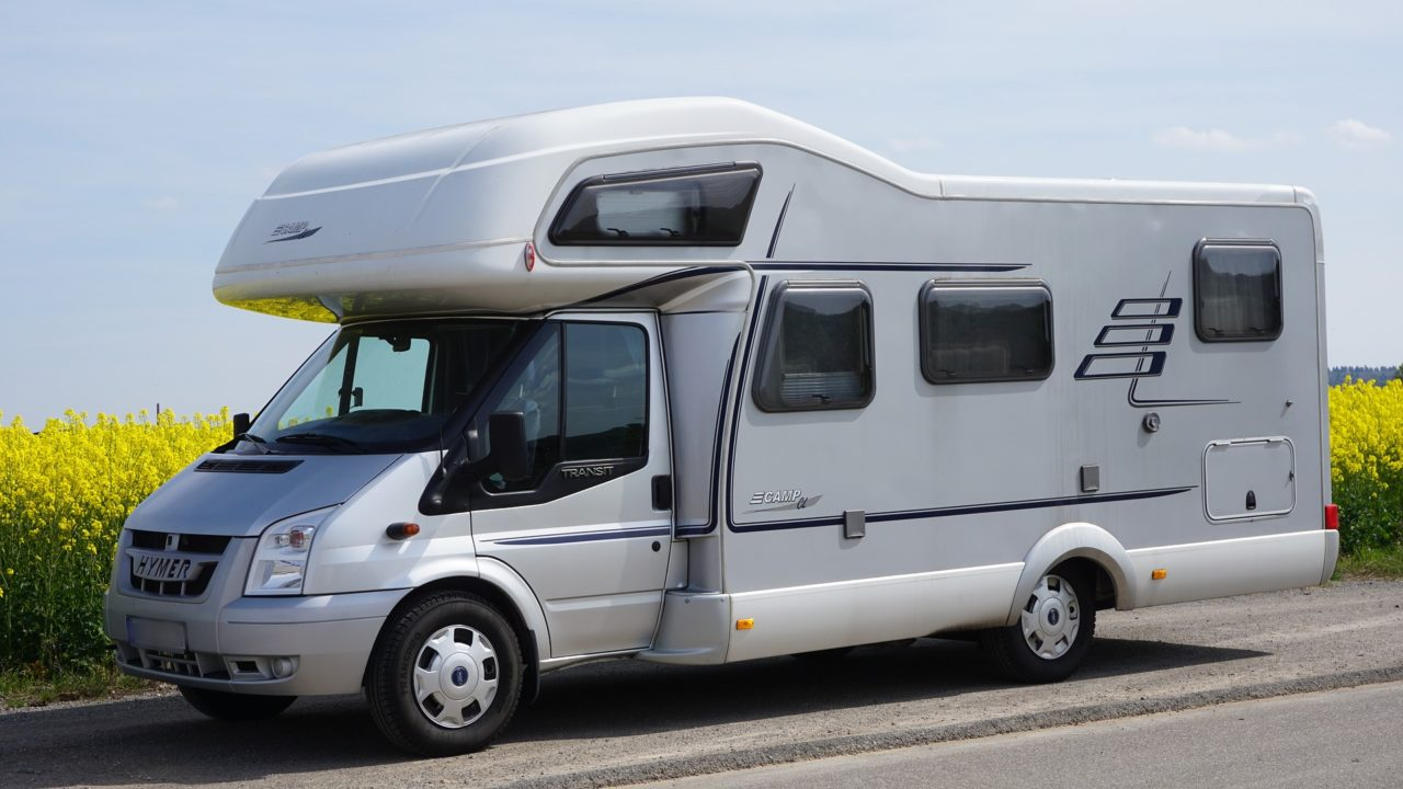 Hymer Alkoven Wohnmobil