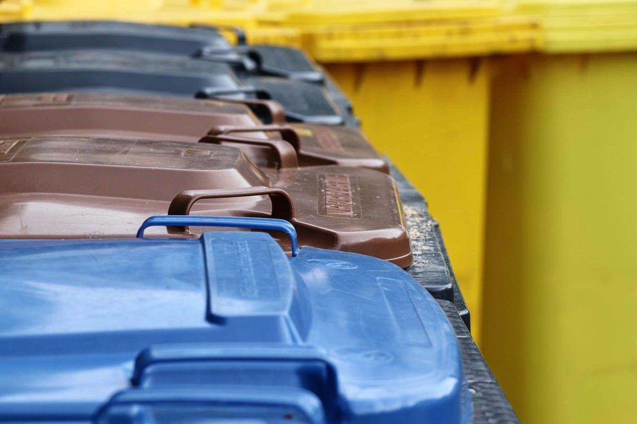 Mülltrennung Müllbehälter