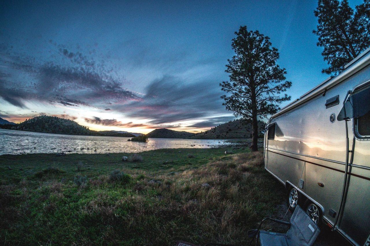 Wohnwagen Arten Airstream Camper Trailer