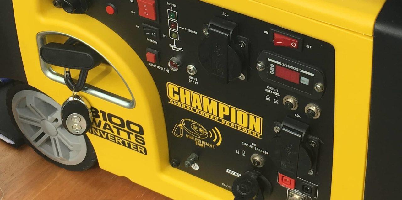 Champion 73001IP-EU 3100 Watt Inverter Generator