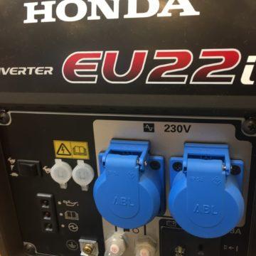 Honda EU 22i Bedienungstafel & Anschlüsse