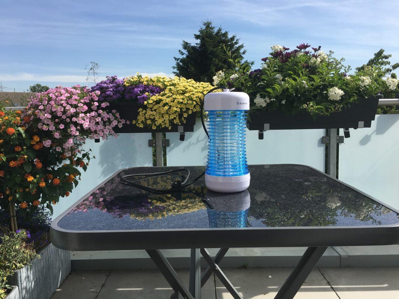 Elektrischer Insektenvernichter Test: Backture Mückenfalle 1
