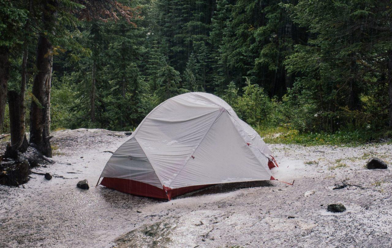 Die Wassersäule verstehen: Wann ist das Zelt wasserdicht? 1