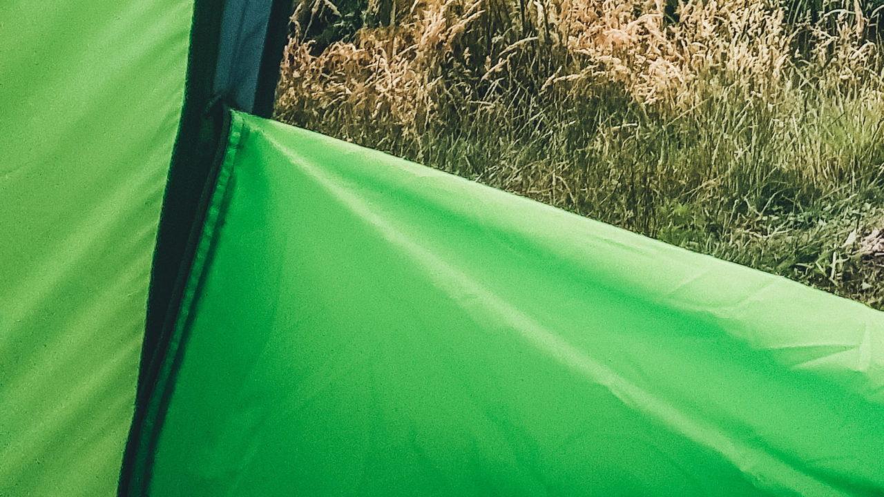 Zeltstoff aus Polyester