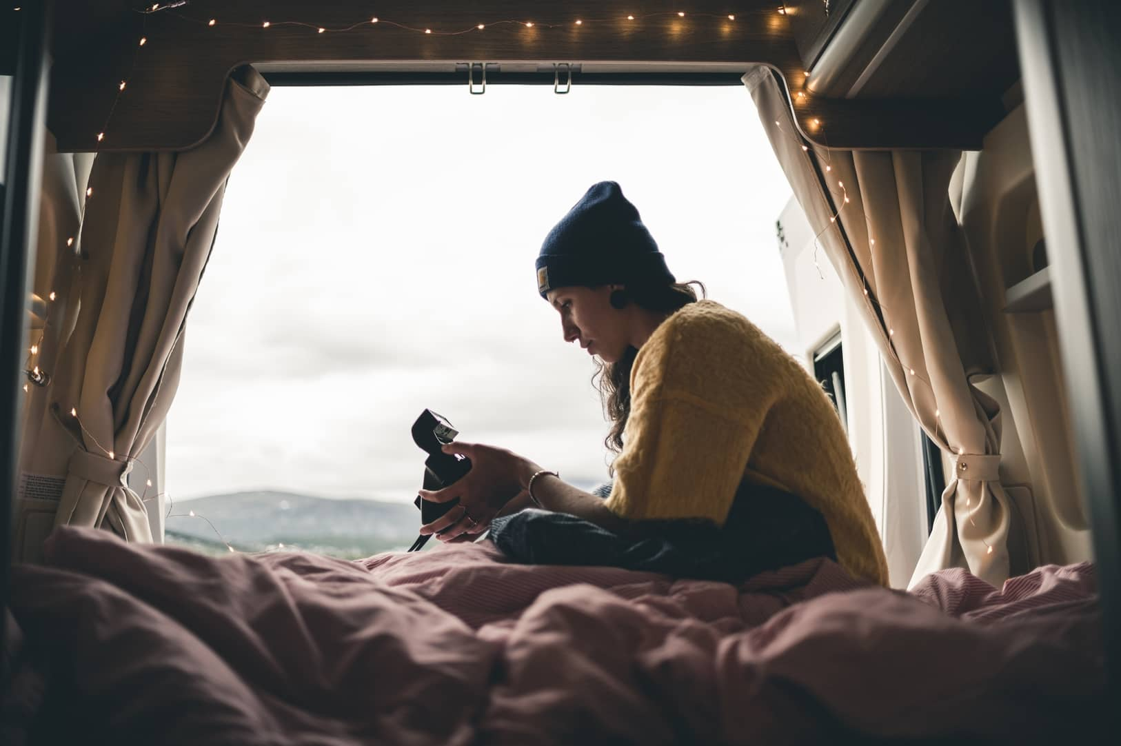 Wohnmobil Bett Pflege Staubsauger