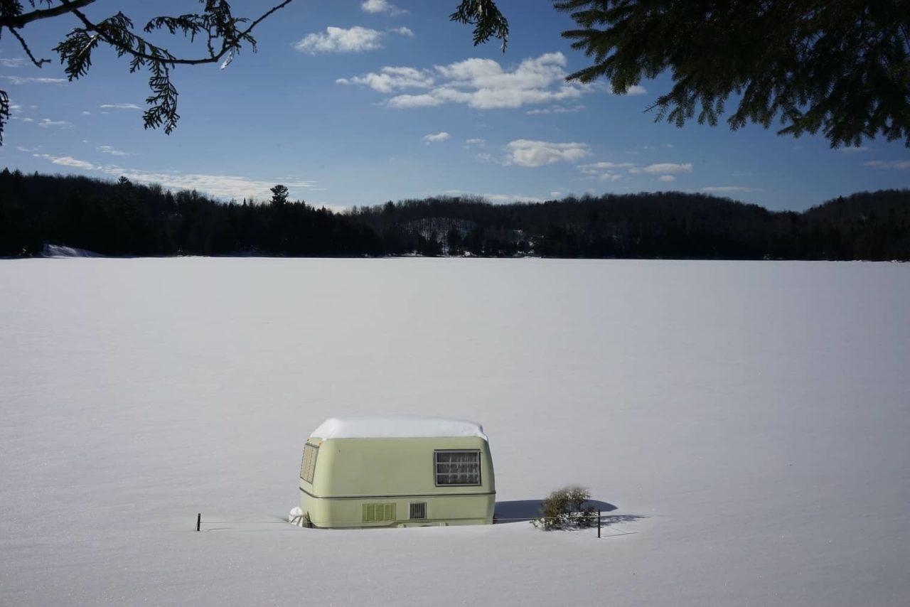 Wohnwagen Schutz Winter