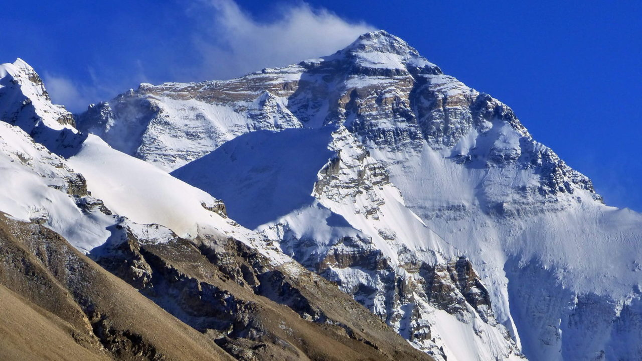 Schnee Berg Winter Mount Everest