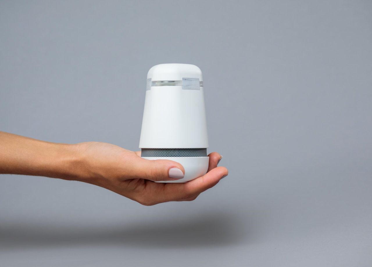 Bosch Spexor Alarmanlage - In einer Handfläche